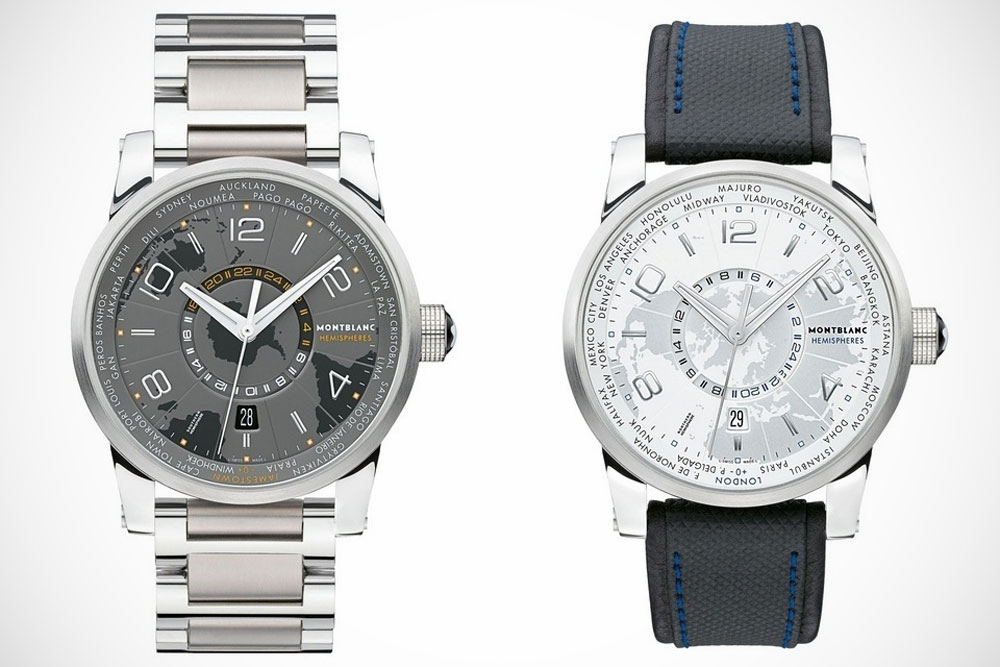 The Montblanc TimeWalker Watches