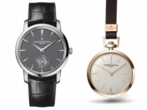 Patrimony Traditionnelle small seconds watch and the Patrimony Contemporaine pocket watch